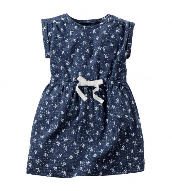 Carter's Printed Jersey Dress, 4 Years