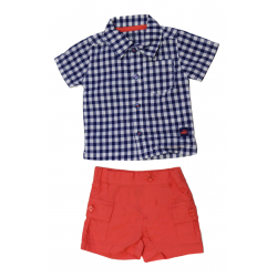 Carter's Baby Boy ٍShirt & Short, Newborn