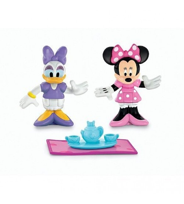 Fisher-Price Minnie and Daisy Tea Time Figure Set