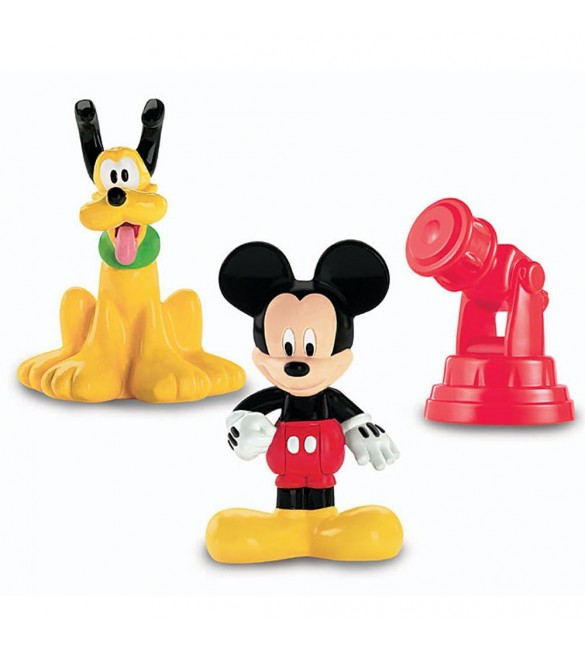 Disney Mickey Mouse Clubhouse Classic Mickey & Pluto Figures with Telescope