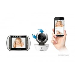 Motorola Digital Video Baby Monitor with Wi-Fi Internet Viewing and 3.5 Inch Diagonal Color Screen
