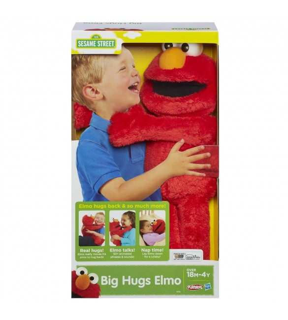 Playskool Sesame Street Big Hugs Elmo Plush