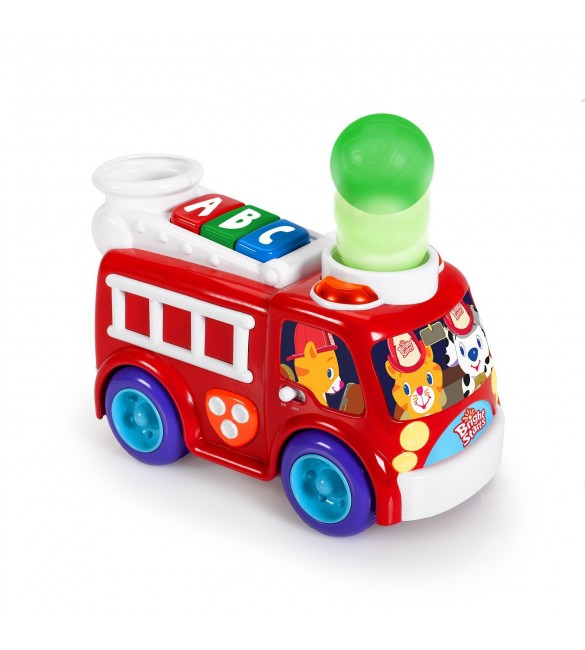 Bright Starts Having a Ball Roll and Pop Fire Truck
