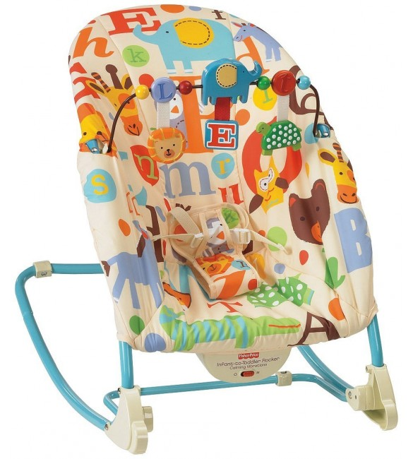 Fisher-Price Infant-to-Toddler Rocker - Alphabets
