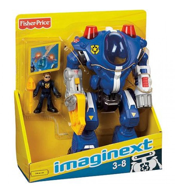 Fisher-Price Imaginext Robot Police