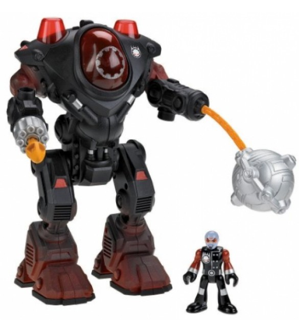 Fisher-Price Imaginext Robot Police Villain Robot