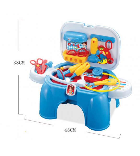 Medical Toy Set in a Carrycase Stool