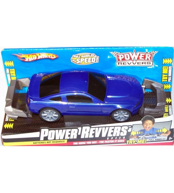 Hot Wheels Power Revvers Mustang GT - Blue