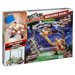 WWE Power Slammers Wrecking Brawl Action Figure