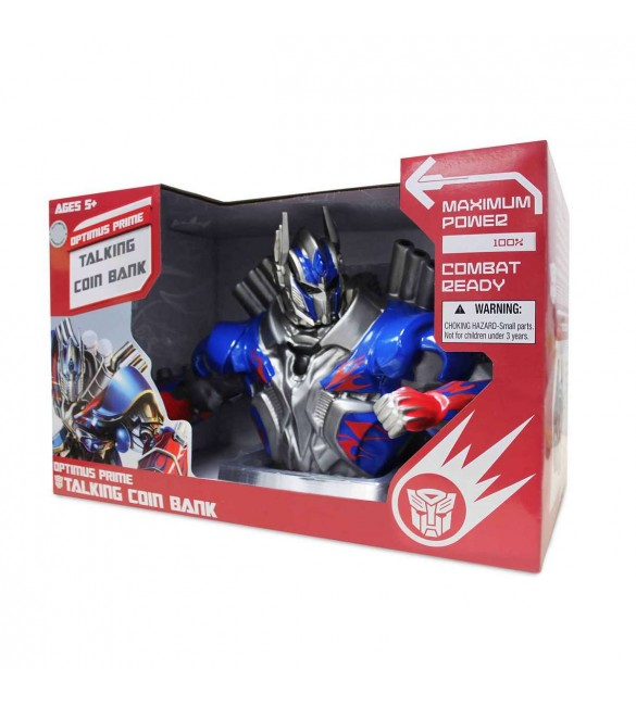 Transformer 4 Optimus Prime Talking Coin Bank