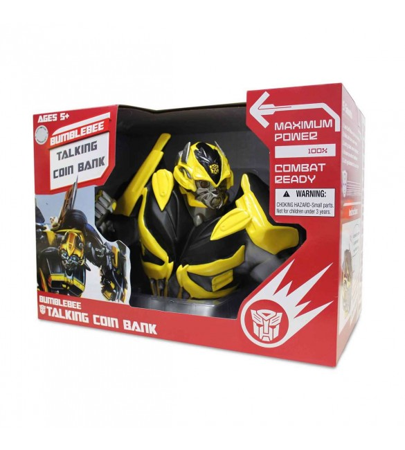 Transformer 4 Bumblebee  Talking Coin Bank