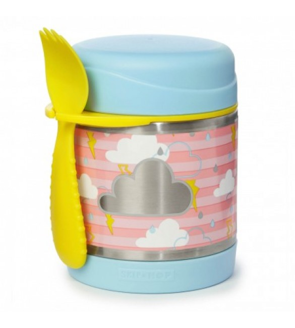 Skip Hop Insulated Food Jar - Clouds
