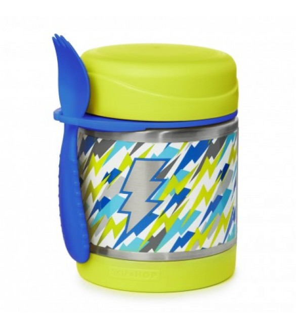 Skip Hop FORGET ME NOT™ INSULATED FOOD JAR - Lightning