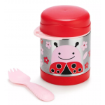Skip Hop Zoo Insulated Food Jar- Ladybug