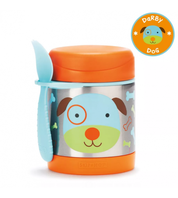 Skip Hop ZOO INSULATED FOOD JAR - Dog