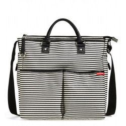 DUO SPECIAL EDITION DIAPER BAG - Black Stripes