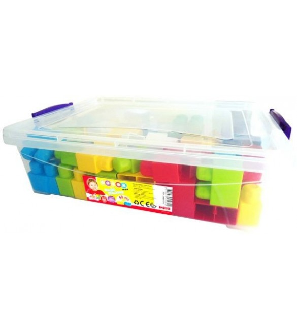 BIG BLOCKS PLASTIC BOX 58 PCS