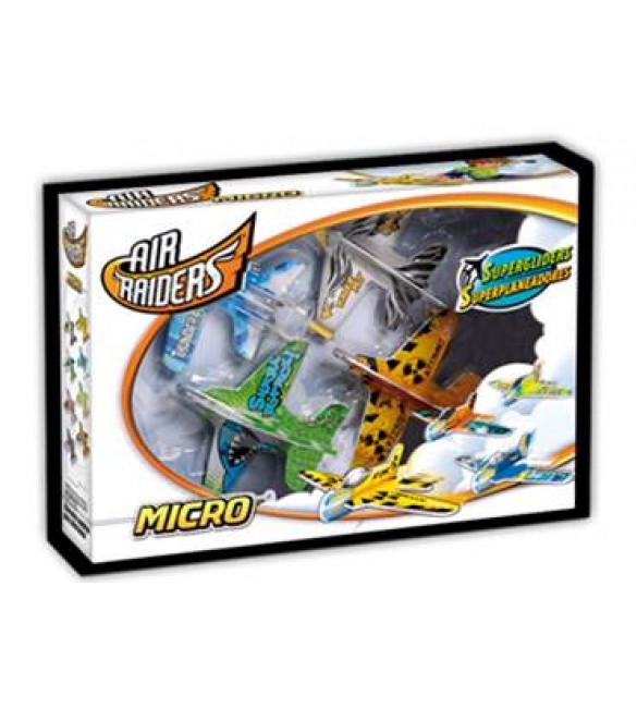 AIR RAIDERS MICRO PLANE SET