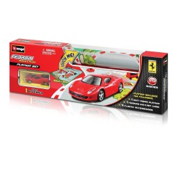 Ferrari Race and Soft Fabric Playmat Set + 1 car