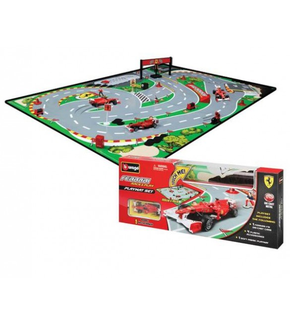 FERRARI RACE & PLAY MAT