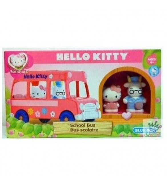 HELLO KITTY VELLUTATA - SCHOOL BUS