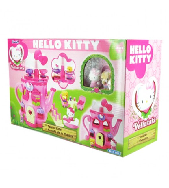 HELLO KITTY VELLUTATA TEAPOT CAFERE