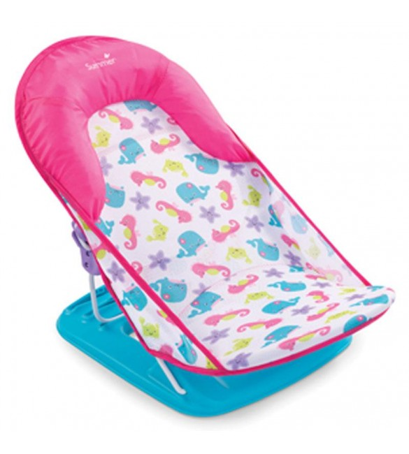 Deluxe Baby Bather Summer Fish and Flowers