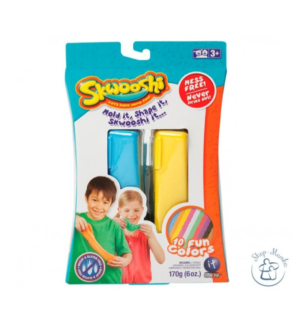 Skwooshi Stretchable Dough Double Pack