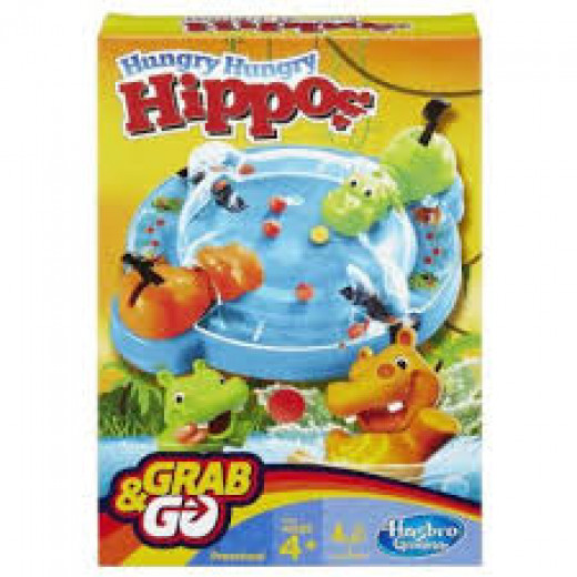 HUNGRY HUNGRY HIPPO GRAB AND GO