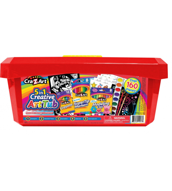 CRA Z ART 5 IN 1 CREATIVE ART TUB