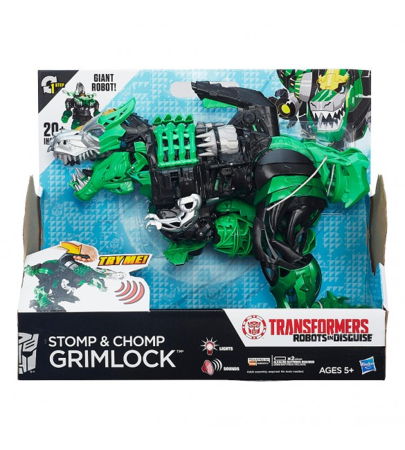 TRA RID STOMP AND CHOMP GRIMLOCK