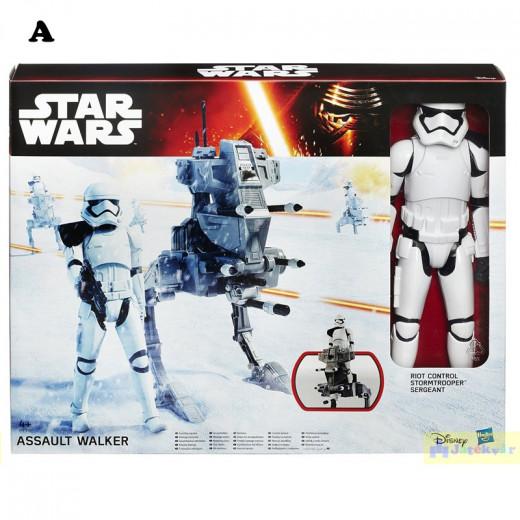 Star Wars E7 HERO SERIES figure and vehicle
