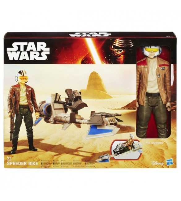 Star Wars E7 HERO SERIES  figure and vehicle