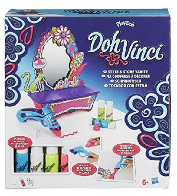 Play-Doh DOHVINCI STYLE AND STORE VANITY