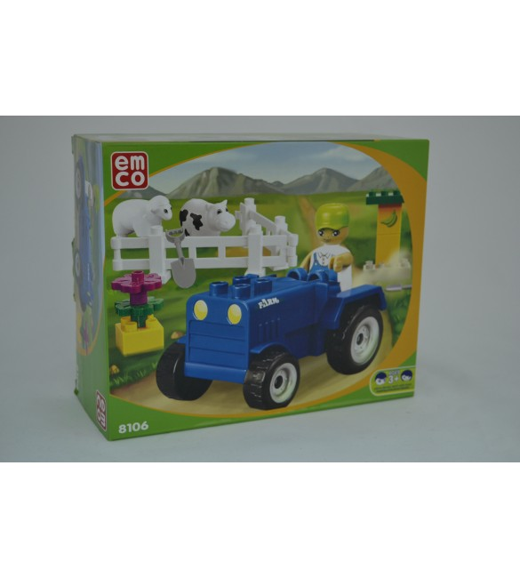 EMCO PRESCHOOL – FARM TRACTOR SET