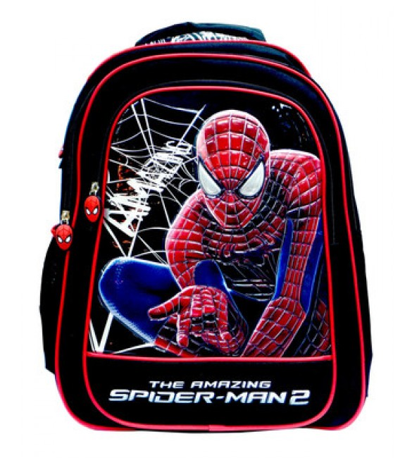 """The Amazing  Spider Man 15"""" Double Handle Trolley"""