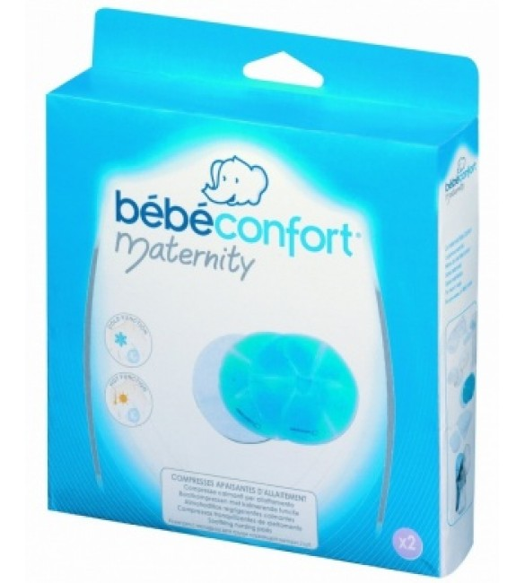 Bébé Confort  2 soothing breastfeeding compresses