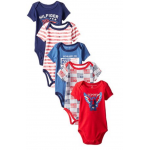 Boys 5-Pack Body Suits 0-3/3-6/6-9/ Months