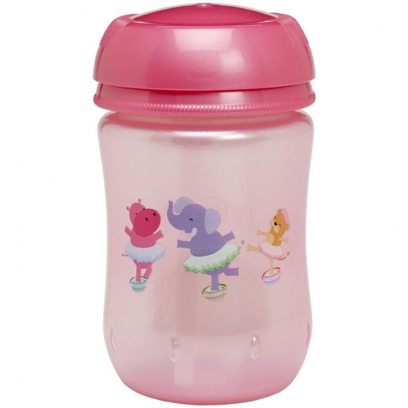 Dr Brown S Straw Cup Pink 270ml Dr Brown S Feeding