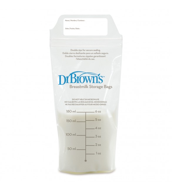 DR. BROWN'S Breastmilk Storage Bags - 25 Bags