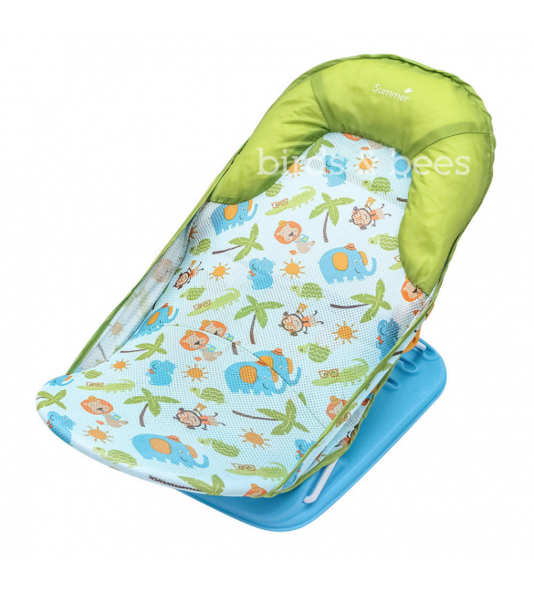 Summer Infant Deluxe Baby Bather, Green