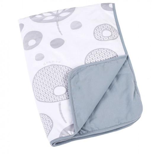 Doomoo Dream Baby Cotton Blanket (100 x 75 cm, Tree Gray)