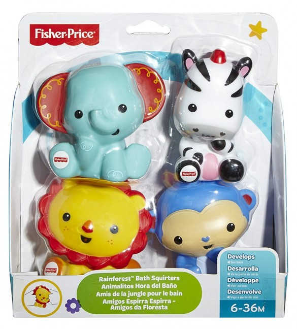 Fisher-Price Rainforest Bath Squirters