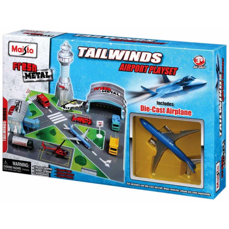 Maisto Tailwinds Airport Playsetmaisto Educational Toys