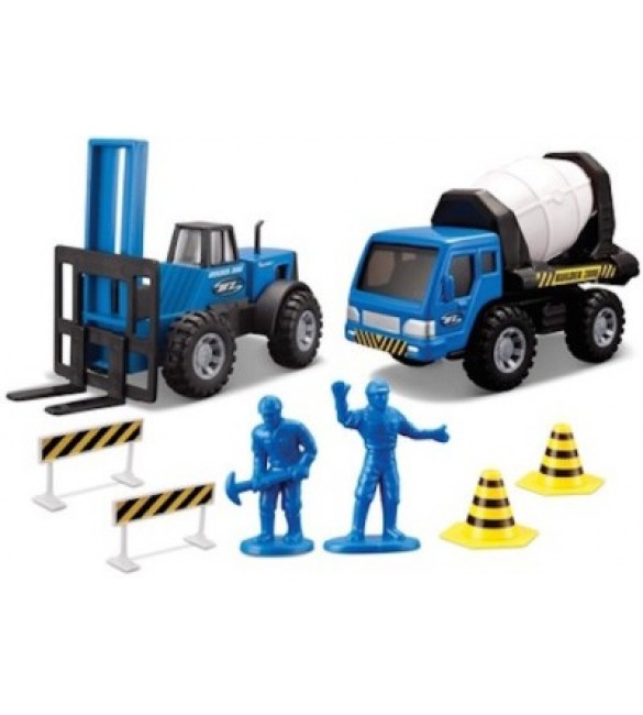 Maisto Builder Zone Rapid Repair Set (Blue)