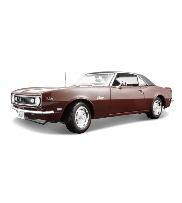 Maisto 1:18 Scale 1968 Chevy Camaro Z/28 Coupe Diecast Vehicle