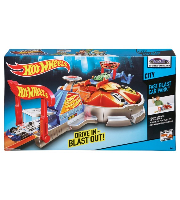 Hot Wheels Launching Garage Playset