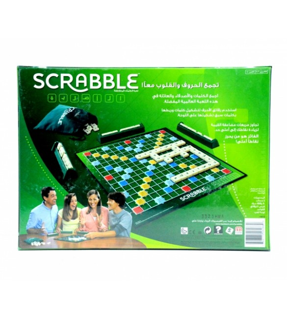 SCRABBLE GAME ORIGINAL-ARABIC