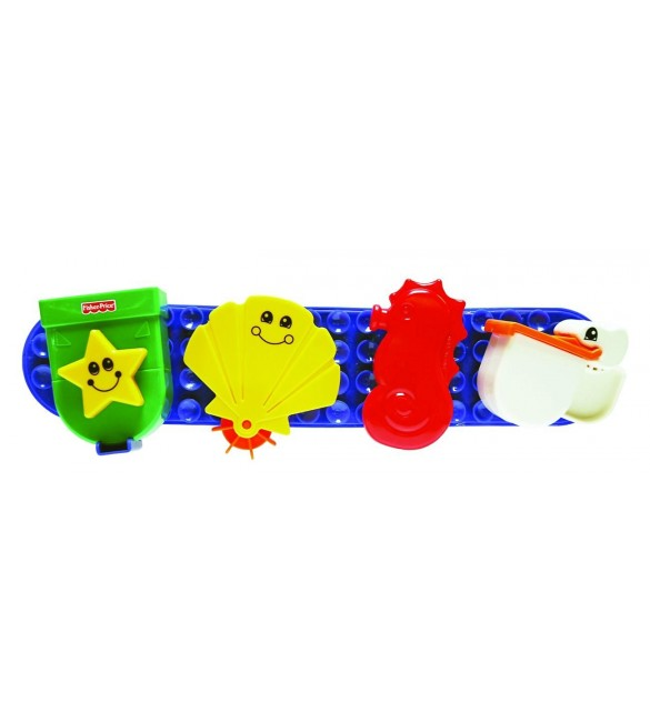 Fisher Price Stay 'n Play Bath Friends