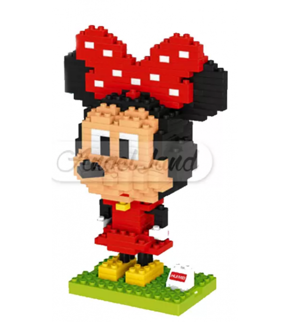 Hui Mei HM191-1 Minnie Mouse DIY Building Blocks Classical (307pcs)